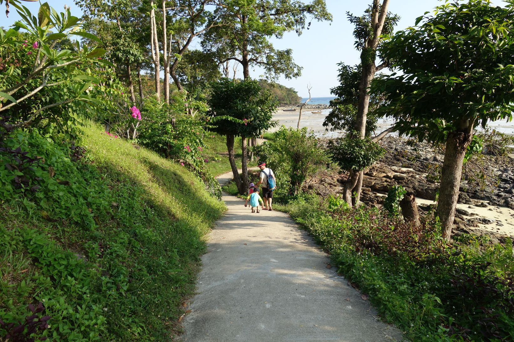 Koh Phi Phi à pied