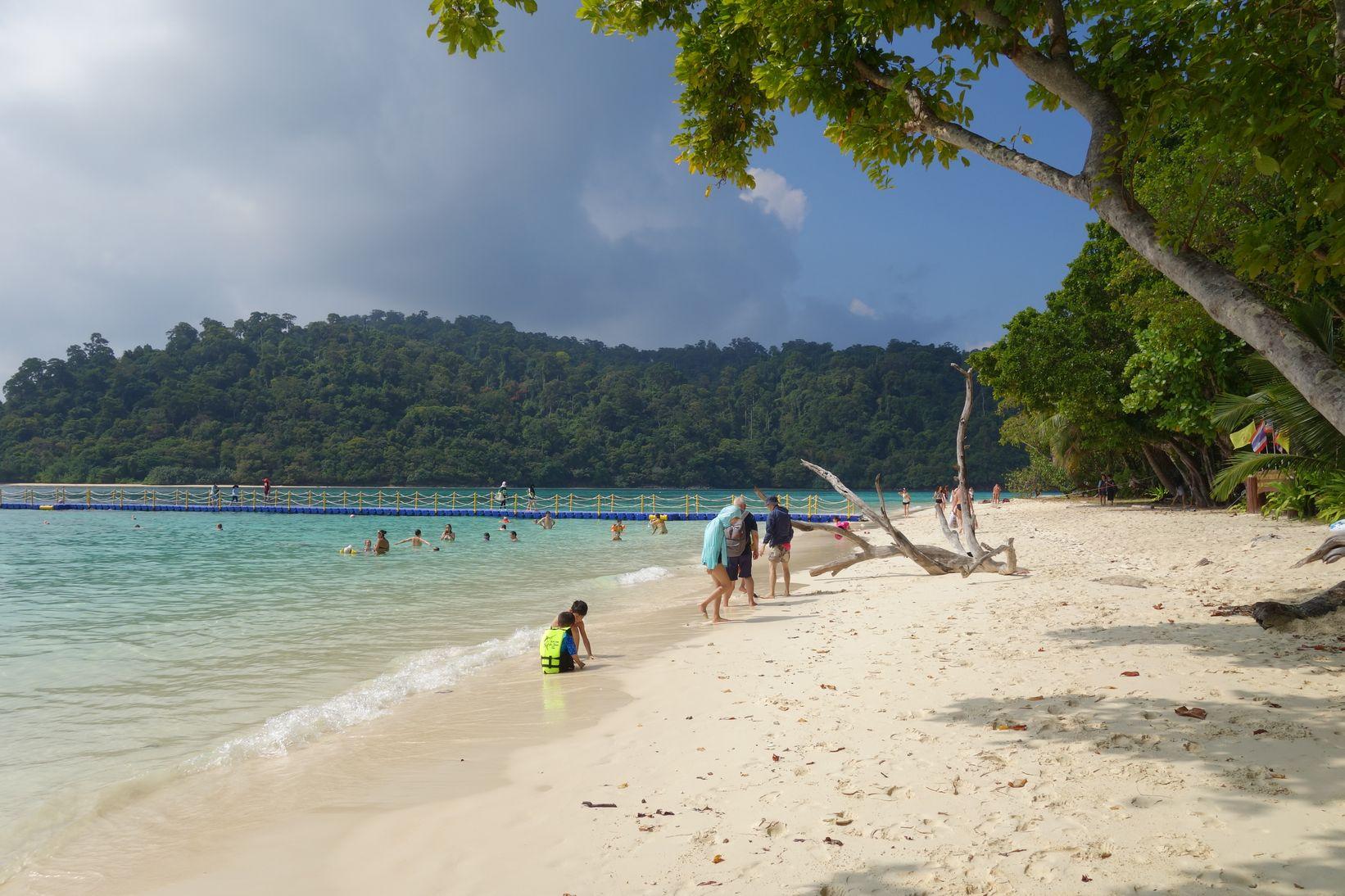 La plage de Koh Rok