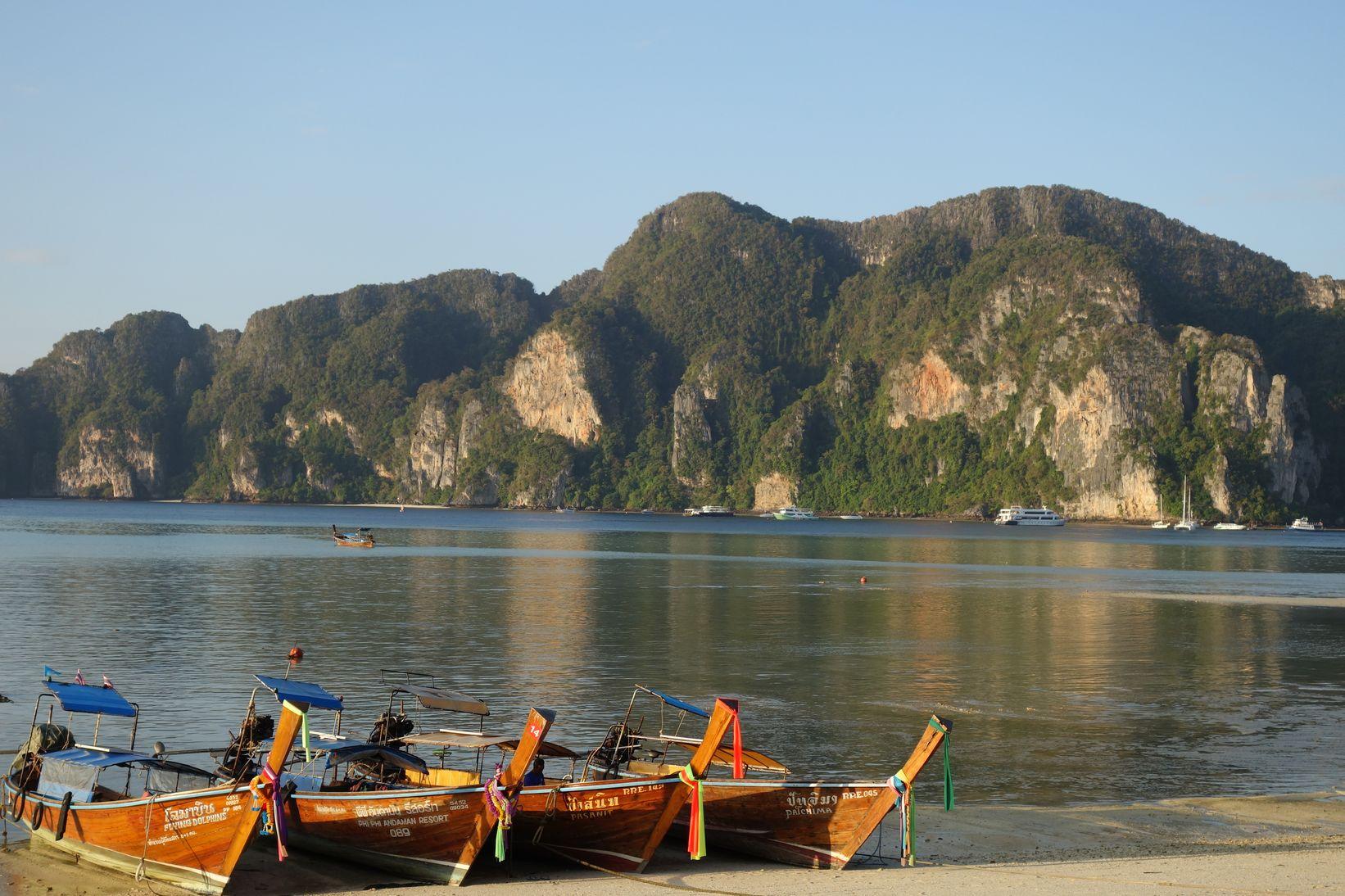 Koh Phi Phi en Thaïlande - Ici et là en famille