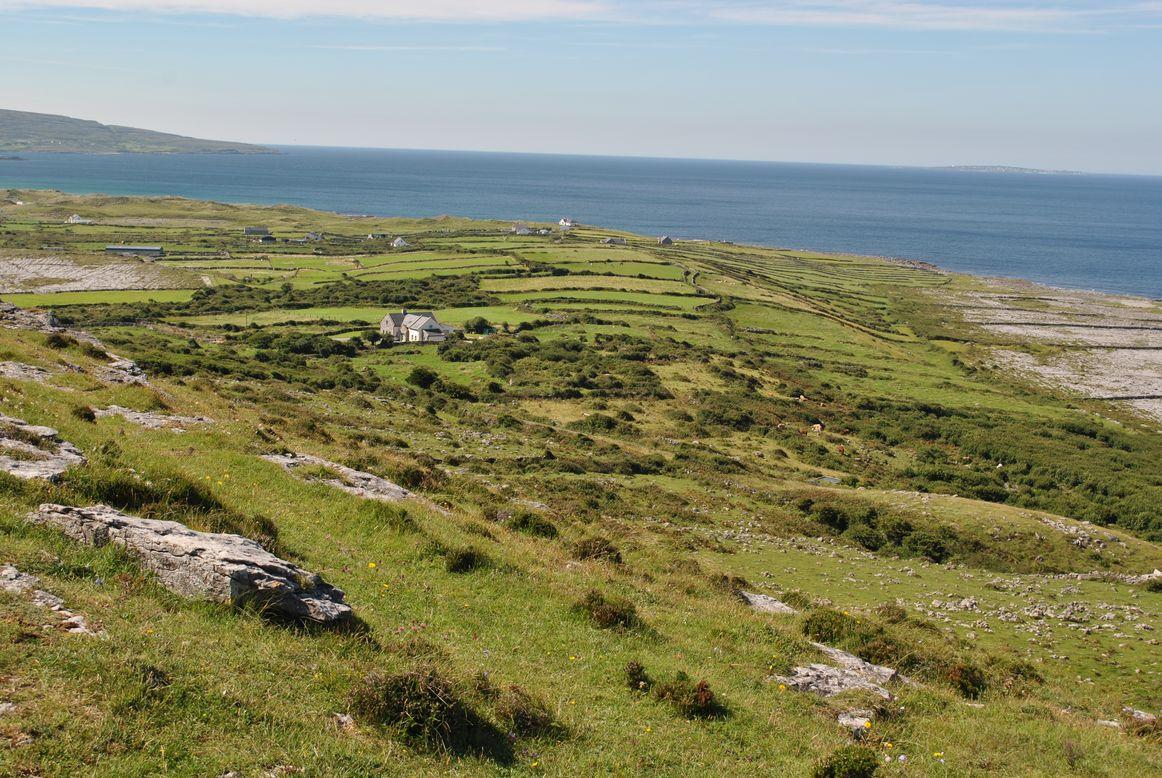Burren en Irlande - Ici et la en famille