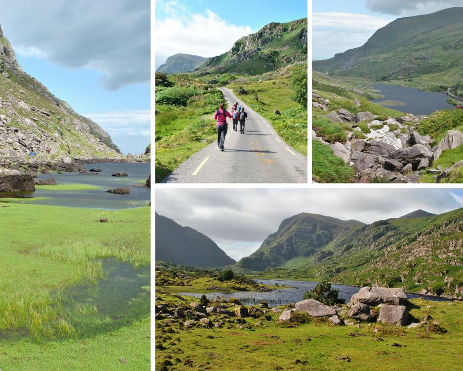Gap Of Dunloe en Irlande - Ici et la en famille