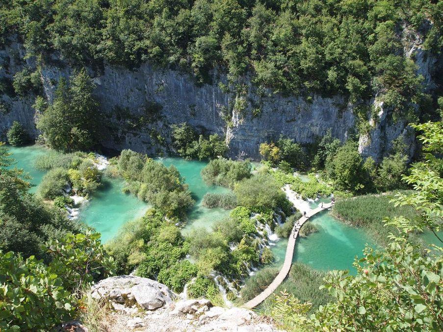 Les lacs de Plitvice - Ici et la en famille