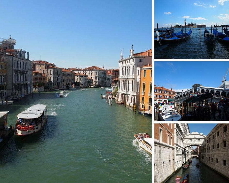Venise en famille - Ici et la en famille