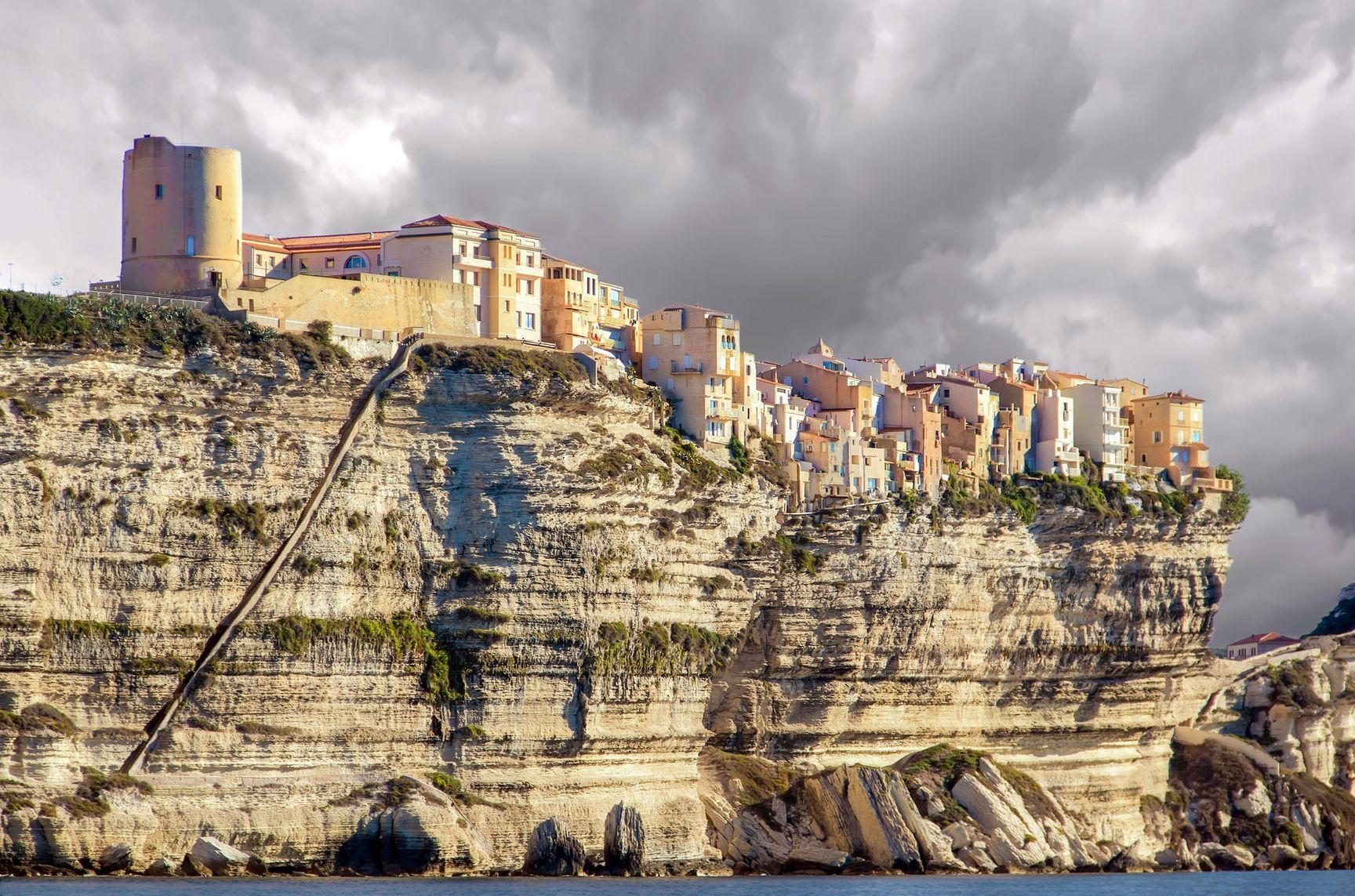 Bonifacio en Corse à la toussaint